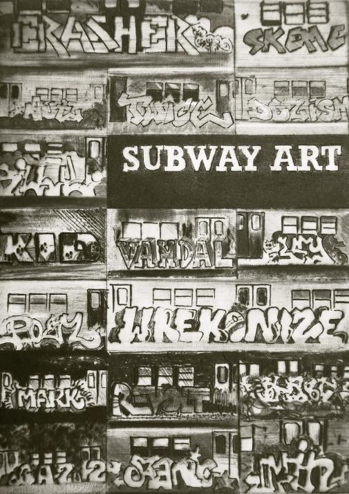 Adrien Klemensiewicz, Subway Art, Kaltnadelstich (C) Photo by Adrien Klemensiewicz.jpg
